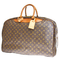 Auth LOUIS VUITTON Alize 3 Poche Travel Hand Bag Monogram Leather M41391 39MG524