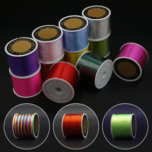 1 Roll Waxed Nylon Cord String Thread Rope Bracelet Jewelry Making Craft DIY
