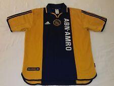2000 AFC AJAX AWAY ADIDAS L KAMPIOEN Amsterdamsche NETHERLANDS UEFA KNVB JERSEY