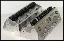 AFR CHEVY SBC 406-434 ELIMINATOR HEADS 220cc 75cc FULLY BUILT PAIR # 1066-HR-75