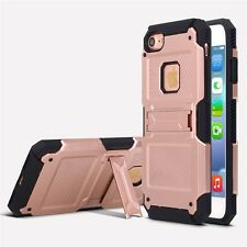 Apple iPhone 7 Moona Protective Shockproof Kickstand 2 in 1 Case Cover