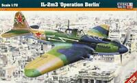 ILYUSHIN IL-2 M3 OPERATION BERLIN (POLISH & SOVIET AF MKGS) 1/72 MISTERCRAFT