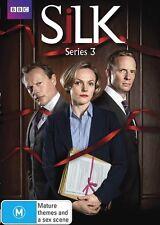 Silk: Series Season 3 (DVD, 2014, 2-Disc Set) Brand new and Sealed REGION 4