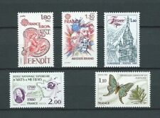 FRANCE - 1980 YT 2085 à 2089 - TIMBRES NEUFS** LUXE