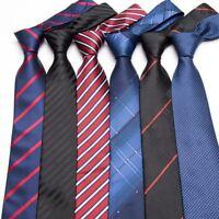 Hommes Cravate habillé affaires Mariage Classique Chemise à rayures robe