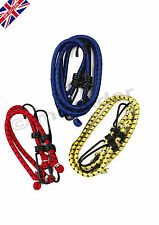 6x Elastic Bungee Straps Cord Rope Set Hooks for Car Bike Luggage D.I.Y Home