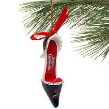 St. Louis Cardinals Team High Heeled Shoe Ornament