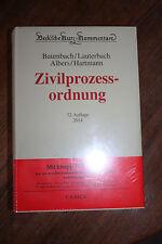 Codice procedura civile di Jan Albers Wolfgang Lauterbach ISBN 9783406643002