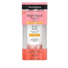 Neutrogena Bright Boost Facial Moisturizer with Broad Spectrum UVA/UVB SPF 30 Su