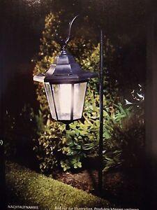 Solar Hängelaterne LED kaltweiss Grablampe Grablicht Grableuchte LATERNE
