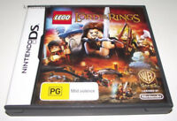 Lego The Lord of the Rings Nintendo DS 2DS 3DS Game *No Manual*