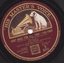 Ray Noble  Orchester spielt Lilian Harvey Hit  :Just Once for All Time - Das gi