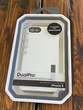 Genuine Incipio DualPro for Apple iPhone 5 White IPH-818 Brand NEW RARE