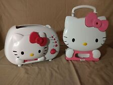 PRICE REDUCED Hello kitty Temperature Control Toaster and Waffle Maker