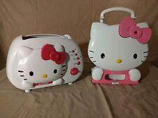 Hello kitty 2-Slice Temperature Control Toaster and Hello Kitty Waffle Maker