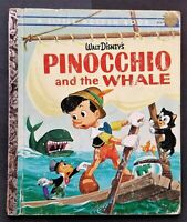 A Little Golden Book - Walt Disney PINOCCHIO and the Whale 1961 Great Condition