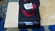 6lb Spool 14AWG STRANDED COPPER WIRE 600V T-90 NYLON RED INSULATED WIRE