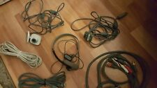 X box XBOX 360 ACCESSORY ACCESSORIES 8 LOT Camera Headphones Microphone cords !!