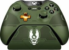 Xbox One Controller Gear Halo 5 Master Chief Green Accents & Military Insignias!
