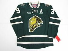MITCH MARNER OHL LONDON KNIGHTS GREEN CCM PREMIER 7185 HOCKEY JERSEY