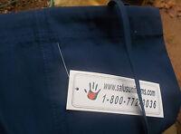 Salas Unisex Scrub Set Sz Sm Medical Doctor/Nurses V Neck top/draw string pants