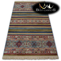 TRADITIONAL Carpets STYLE Ethnic RUG WINDSOR Jacquard blue burgund High Quality