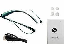 Motorola Buds SF500 Black Wireless Bluetooth Stereo Headset Headphones - New