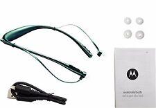 Motorola Buds SF500 Black Wireless Bluetooth Stereo Headset Headphones - New