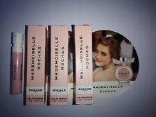 3 x Rochas MADEMOISELLE 1.2ml Eau de parfum SPRAY samples *NEW*