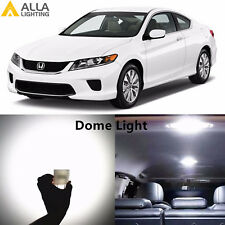 Alla Lighting Interior Dome Lights DE3175 White LED Bulb for Honda Accord Civic