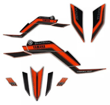 Decals graphic stickers For Yamaha Yfz450 Especial Edition Orange & black