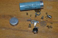 Vintage Record  Ambassdeur parts tube full of  fishing reel parts