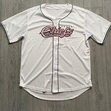 Syracuse Chiefs Baseball Jersey Size XL White Minor League