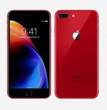 Apple iPhone 8 Plus 64GB Red (GSM Unlocked)- 4G LTE iOS- VERY GOOD B+