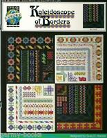 Kaleidoscope of Borders True Colors Colored Graphs Cross Stitch Pattern NEW