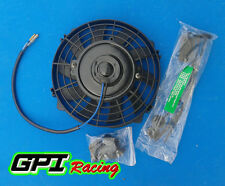 "7"" inch Electric Radiator/Intercooler 12v Slim Cooling Fan + Fitting Kit"