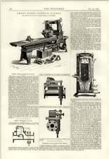Superficie de rueda 1890 Esmeril regruesadora Springfield portátil Lenta Estufa
