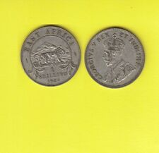 British East Africa GEORGIUS V One  Shilling Argent 1924  Exemplaire N° C