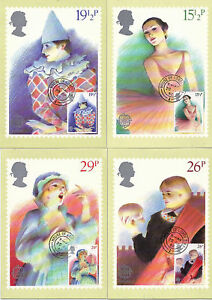28 APRIL 1982 BRITISH THEATRE SET OF PHQ CARDS 59 HOUSE OF LORDS CDS