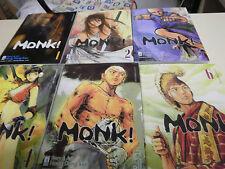 MONK! DA 1 A 6 , EDIZIONI STAR COMICS , SERIE COMPLETA  NUOVA!