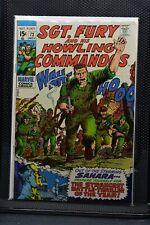 Sgt Fury and His Howling Commandos #72 Marvel Silver Age Comic 1969 Stan Lee 7.5