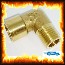 "1/4"" BSP Male to 1/4"" Female Brass Hose Tail Fitting Fuel Air Gas Water Hose Oil"