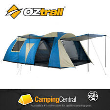 OZTRAIL ODYSSEY LARGE FAMILY TENT (SLEEPS 12) Geodesic 12 Person Oztrail Tent