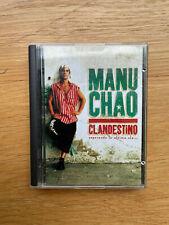 Minidisc Manu Chao Clandestino album music