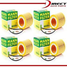 4 PACK ENGINE OIL FILTER GENUINE MANN FILTER HU 816 X FOR BMW OE# 11428683196