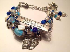 "Bracelet Multi Layer Sea turtle Inspirational Seashell 6-8"" handmade USA 478"