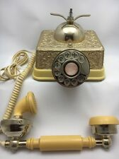 Radio Shack French Continental Rotary Dial Phone Vintage Model 43-320A Parts