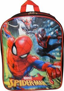 """Spiderman 15"""" Boys School Backpack"""