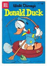 WALT DISNEY'S DONALD DUCK #47 - Dell 1956 comic book - Fine