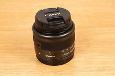 Canon EF-M 15-45mm f/3.5-6.3 IS STM Lens EOS M M2 M3 M5 M6 M10 M100 + UV Filter